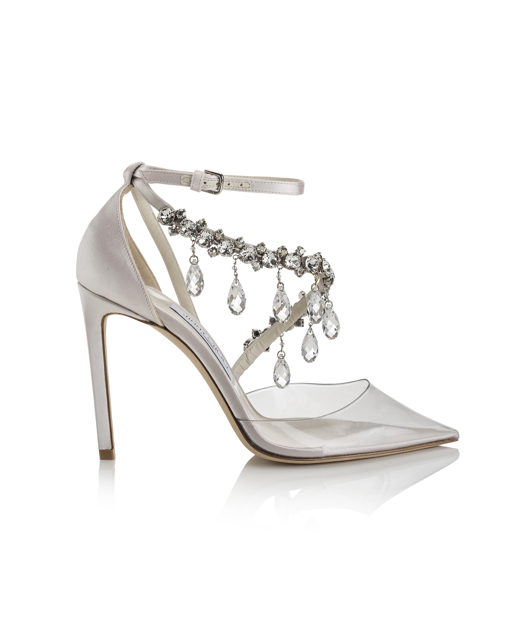V.COM_OFF-WHITE™ C:O JIMMY CHOO_VICTORIA 100 - PLEXI, SATIN W CRYSTALS - TRANSPARENT, CHALK, CRYSTAL