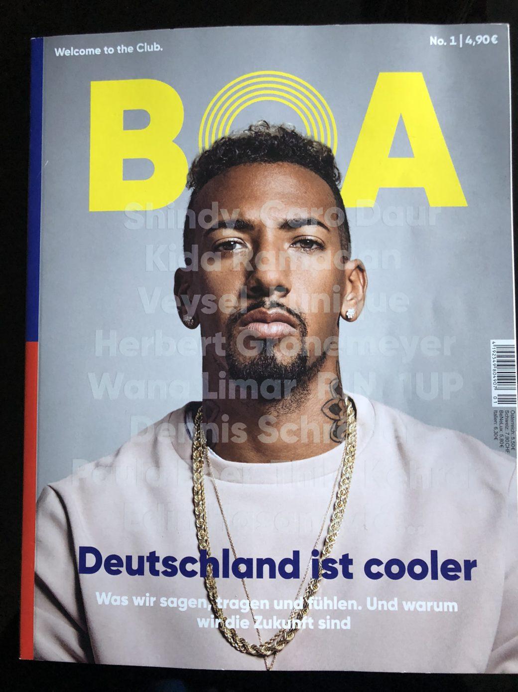 Boa Hier Kommt Das Magazin Von Jerome Boateng Glam O Meter